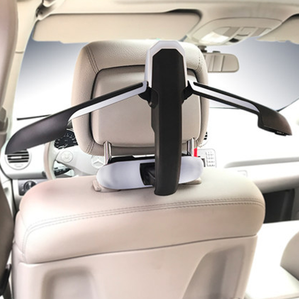 Luxury  ABS Car Clothes Hanger Coat Stand Seat Headrest Stand Jackets Suits Holder Rack Auto Supplies For U