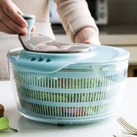 MDZF SWEETHOME 4000ml Salat Werkzeuge Schüssel Salat Spinner Küche Werkzeuge Trockner Für Vegatables Obst Mixer Gadgets Küche Zubehör-in Salatutensilien aus Heim und Garten bei