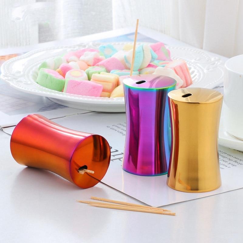 1pcs toothpick box european style sleek high end mini holder