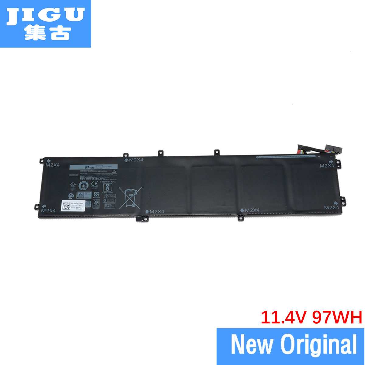JIGU 11.4V Original Laptop Battery 6GTPY 5XJ28 For Dell Precision 5510 XPS 15 9550 9560 Laptop Tablet BATTERY 97WH image
