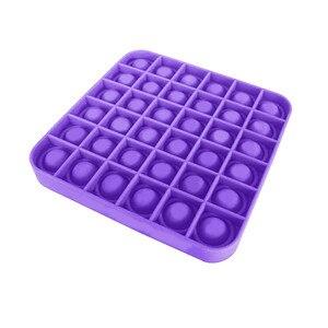Пуш ап игрушечный кубик для пуш ап пузырь Непоседа сенсорные игрушка для аутистов особые потребности для снятия стресса и Увеличить Фокус мягкие носки с противоскользящим покрытием, игрушка для снятия стресса Игрушки-эспандеры      АлиЭкспресс