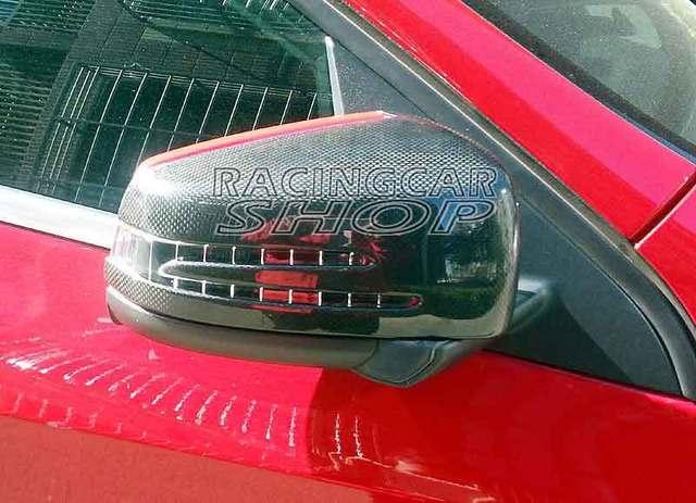REAL CARBON FIBER MIRROR COVER FOR Benz W176 A-Class A250 A176 A180 A250 A200 A45 1PAIR 2013up M095M 3