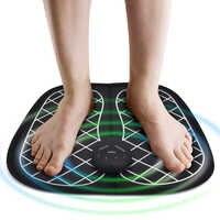 Elektrische EMS Fuß Massager Fuß Muscle Stimulator Massager Wireless Niedrigen Frequenz Füße Physiotherapie ABS Stimulator Massage Matte