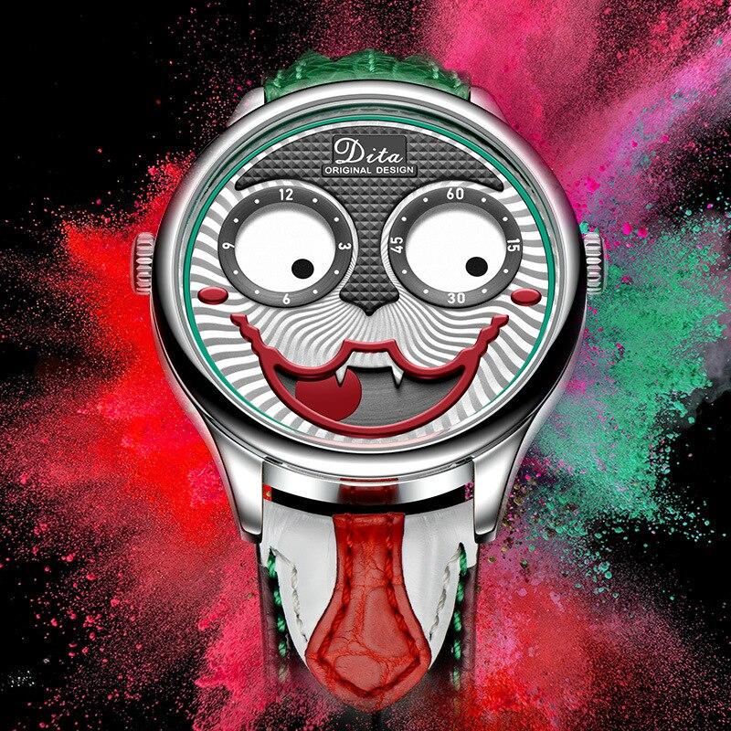 Joker montre hommes haut marque de luxe mode personnalité alliage Quartz montres hommes édition limitée montre de créateur nouveauté 2019