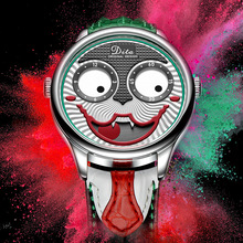 Joker İzle erkekler üst marka lüks moda kişilik alaşım kuvars saatler Mens sınırlı sayıda tasarımcı izle yeni varış 2019