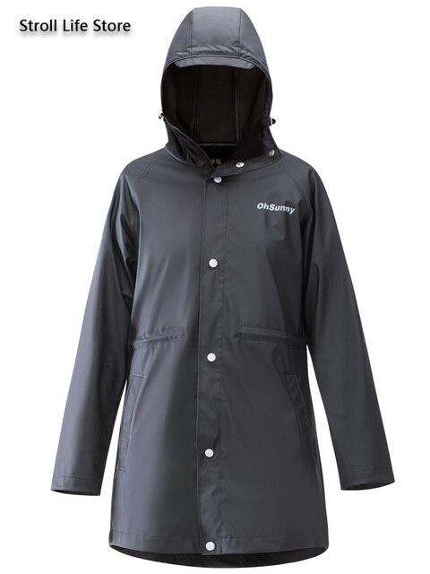 Sunscreen Windbreaker Raincoat Women Men Outdoor Waterproof Travel Long Rain Poncho Jacket Yellow Rain Partner Impermeable Gift 4