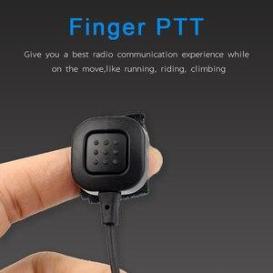Image 4 - 2 Pin גרון מיקרופון PTT אוזניות עבור KENWOOD TYT BAOFENG UV 5R BF 888S UV 5R Retevis H777 RT5R חזיר רדיו ווקי טוקי C9026A