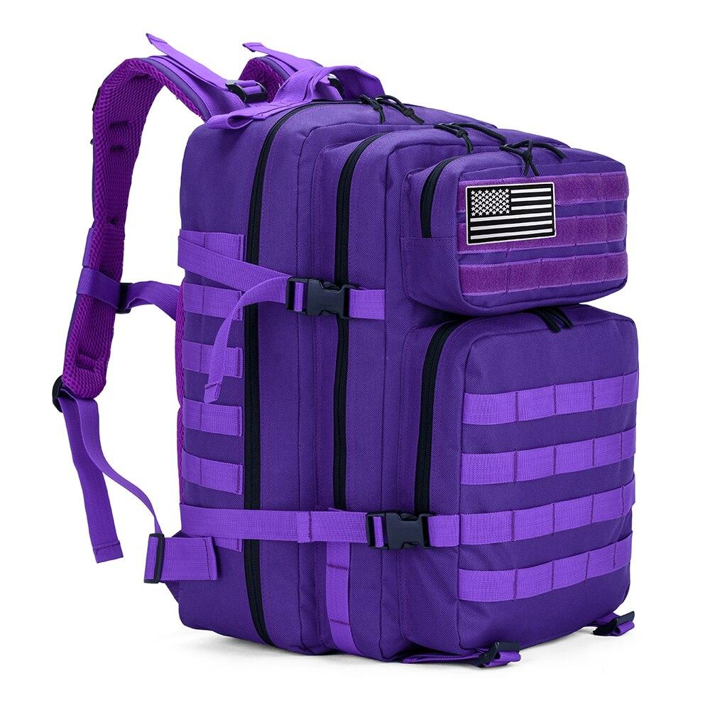 45l militar molle mochila tatico do exercito dos homens viagem a prova dwaterproof agua bagpack turista