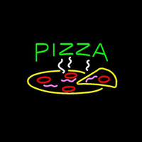 PIZZA Food Neon sign Custom Handmade Real Glass Tube Restaurant Shop Store Motel Hotel Advertisement Display Neon Signs 17X14