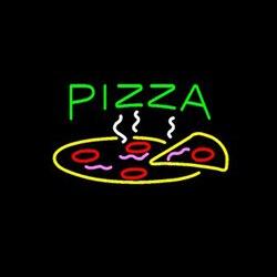 Pizza neon niestandardowe ręcznie prawdziwe szkło Tube restauracja sklep sklep Motel Hotel wyświetlacz reklam neony 17
