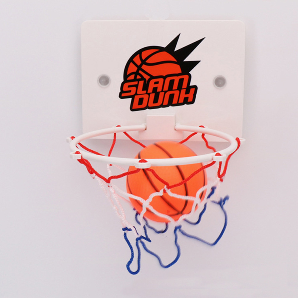 Kids Basketball Hoop Outdoor Indoor Wall-mounted Basketball Hoop Game Slam Toy Set Sports Parent-child Communication Toys