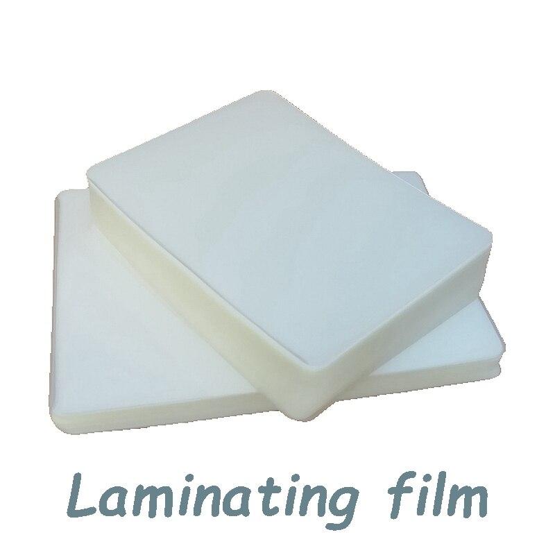A5 A6 boyut PVC su geçirmez kaplama laminasyon filmi 4r koruma kartı sözleşme laminasyon filmi