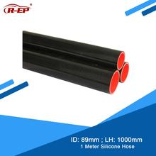 R EP 1 Mét 76 Mm Vòi Silicon Thẳng Durite Silicone Mới Cao Su Silicone Joiner Liên Tản Nhiệt Cho Intercooler Ống Linh Hoạt