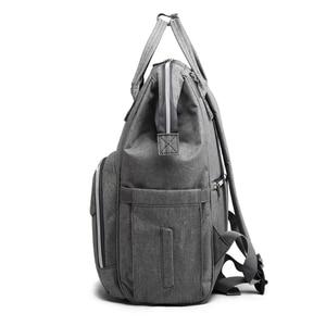 Image 5 - Mummy bag USB Diaper Bag Baby Care Large Capacity Mom Backpack Mummy Maternity Wet Bag Waterproof Baby Pregnant Bag