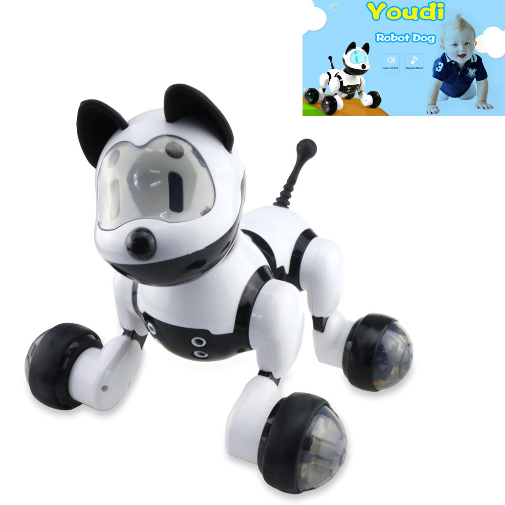 Interaction Voice Control Smart Robot Dog Kids Toy Intelligent Talking Dancing Robot Dog Toy Electronic Pet Kids Birthday Gift