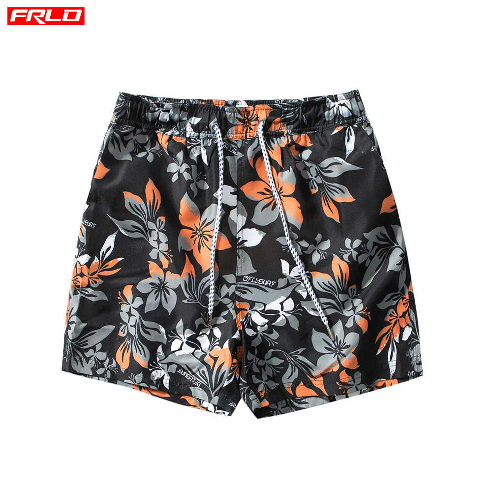 Swimsuit Beach Pants Men's Hot Spring Waterproof Swimming Shorts Quick Dry Men Swimwear Trunks Bathing Suit Sunga Masculina