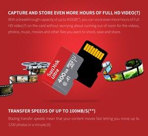Image 2 - سانديسك مايكرو SD بطاقة 256G 200GB 128GB 64GB 100 برميل/الثانية الذاكرة بطاقة SD/TF فلاش بطاقة Class10 32GB 16GB مايكرو للقرص/الهاتف الذكي