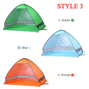 Image 5 - KEUMER Automatische Camping Zelt Schiff Von RU Strand Zelt 2 Personen Zelt Instant Pop Up Öffnen Anti UV Markise Zelte outdoor Sunshelter
