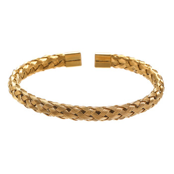 Bracelet Or/acier inoxydable titane hommes 1