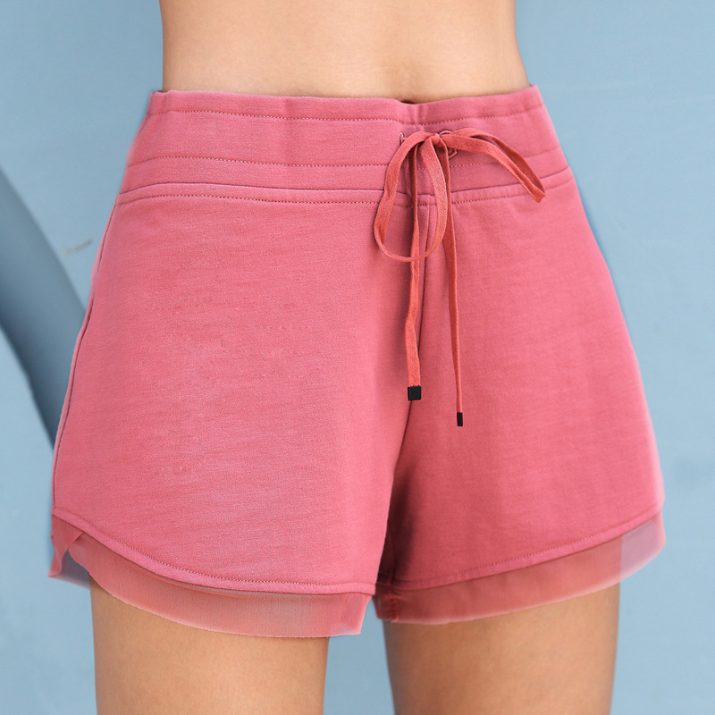 2019 New Vimi Sports Shorts Women Fitness Tight Lady Pants Fast Dry Stretch Running Training Shorts