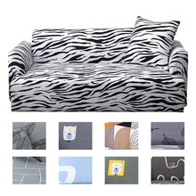 Animal Sofa Cover Elastic for Living Room L Shape Sectional Adjustable Covers for Corner Sofa Covers
