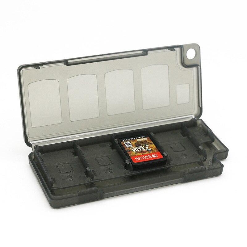 Interruptor de accesorios para juegos de Nintendo 8 Cassette 8 en 1 caja protectora para tarjetas de juego interruptor caja de almacenamiento de juegos