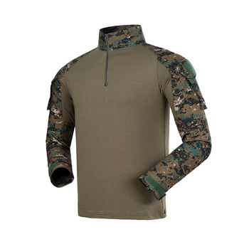Male Military Uniform Tactical Long Sleeve T Shirt Men Camouflage Army Combat Shirt Airsoft Paintball Clothes Multicam Shirt Top brand military camouflage t shirt men multicam uniform tactical long sleeve t shirt airsoft paintball clothes army combat shirt