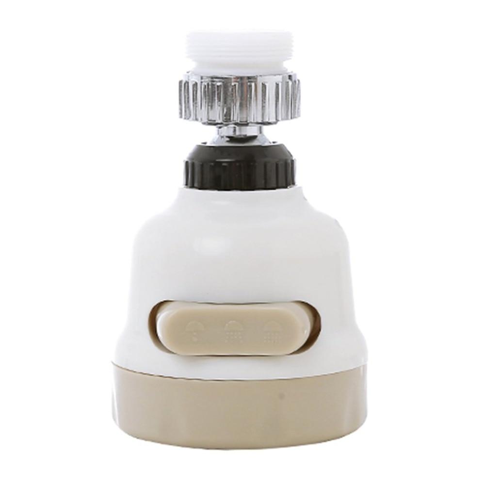 360 Degree Water Bubbler Swivel Head Water Saving Nozzle Tap Adapter Kitchen Water Sprinkler Water Saving Device