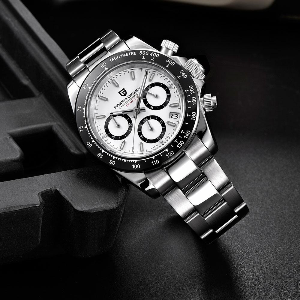 PAGANI DESIGN 2019 Brand Men Sports Quartz Watch Luxury Men Waterproof WristWatch New Fashion Casual Men Watch Relogio Masculino
