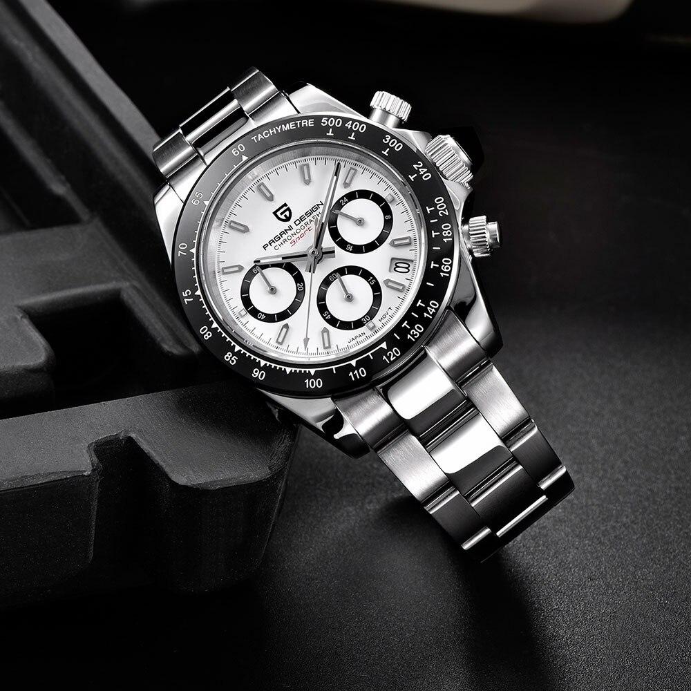 PAGANI DESIGN 2019 marque hommes sport montre à Quartz de luxe hommes étanche montre bracelet nouvelle mode montre décontractée pour homme relogio masculino - 1