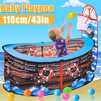 Foldable Playpens Games Pool Of Balls For Kids Baby Playpen Game Portable Children Outdoor Indoor Ball Pool Play Tent Kids Safe