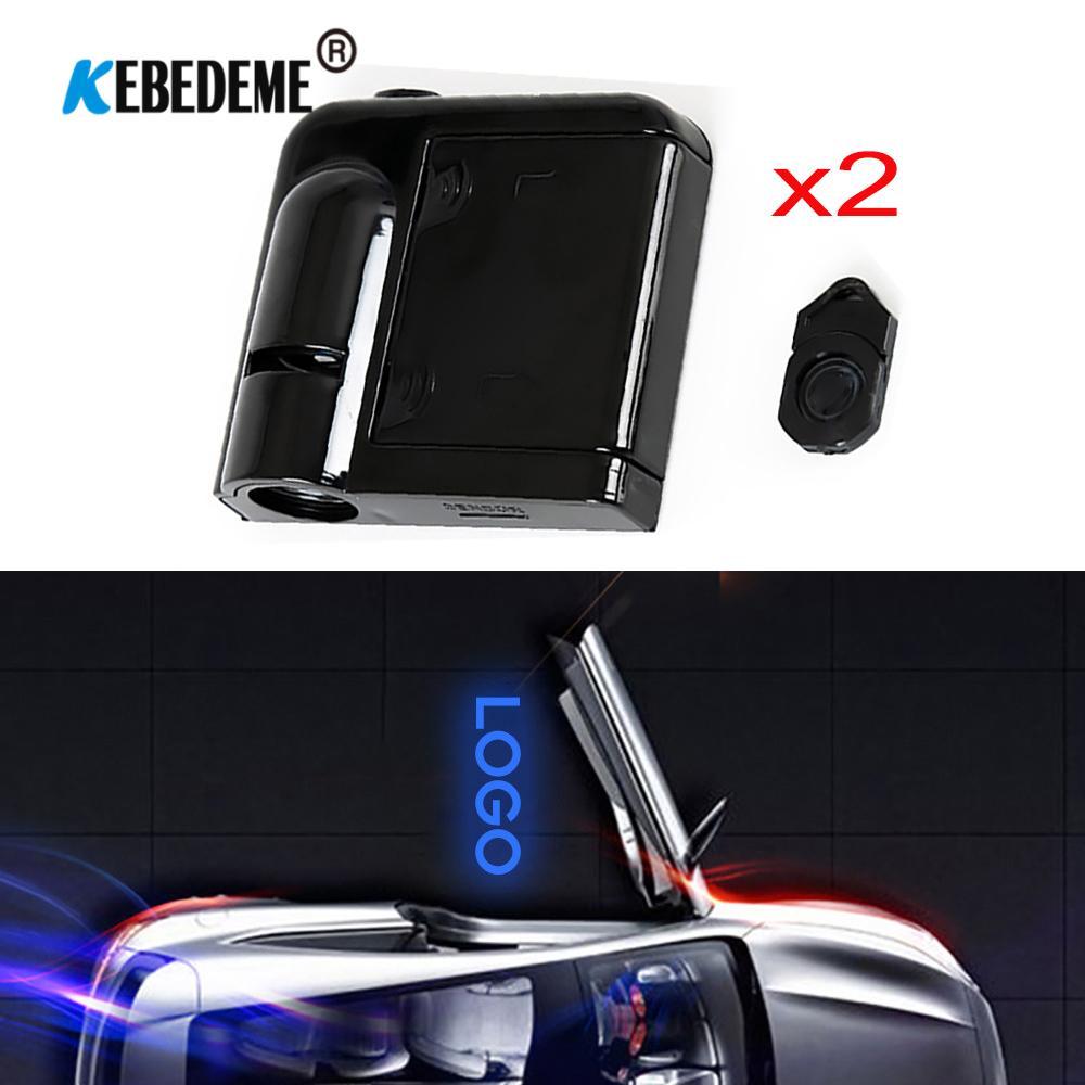 Светодиодный светильник, добро пожаловать, привидение, тень, светильник, лазерный логотип, проектор, дверь автомобиля, Предупреждение для BMW Audi Honda VW Ford Hyundai Toyota