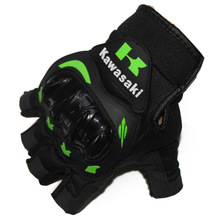 Half Finger Motorcycle Gloves Motorcross Racing Protective Offroad Riding Scooter Guantes Motocicleta Moto Gloves цена
