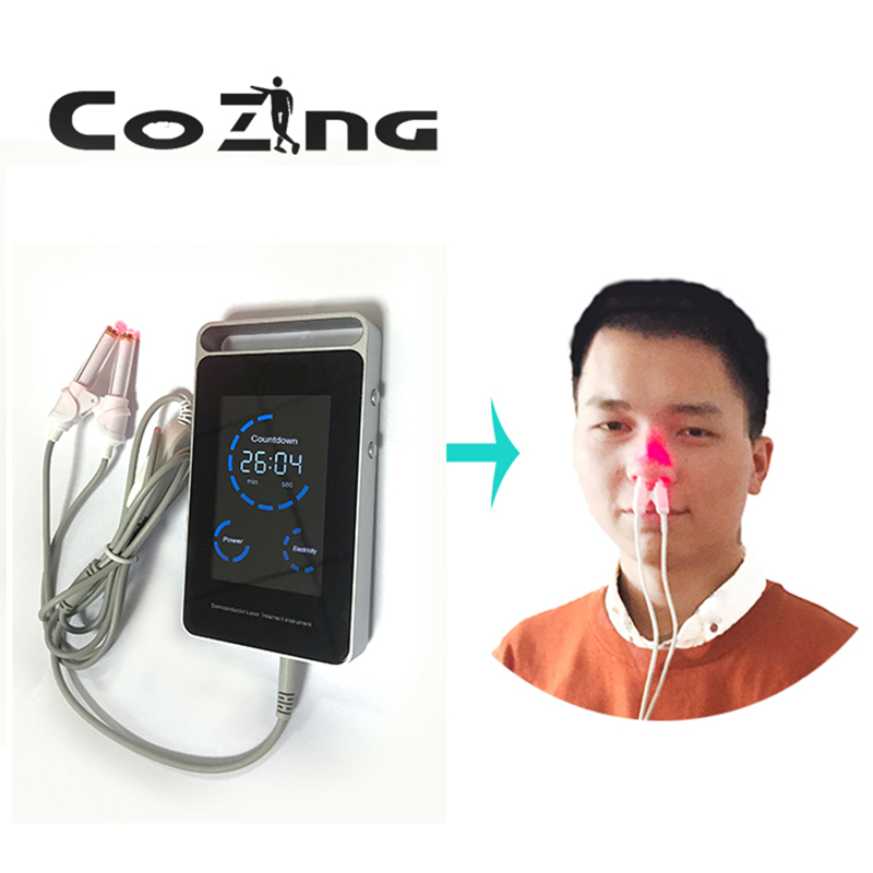 650nm laser therapy device diode LLLT for diabetic hypertension treatment watch laser sinusitis treatment instrument