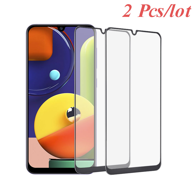 2pcs 5D Tempered Glass For Samsung Galaxy A30 A70 A10 A20S A2 Core Screen Protector Glass For Samsung A50s A 20E A10e Film A31