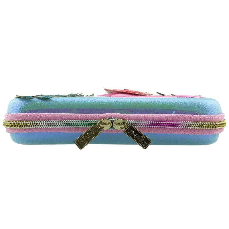 Купить с кэшбэком Pencil case Flamingo box cute estuche escolar kawaii kalemlik cartucheras para lapices escolares kalem kutusu pennenzak piornik