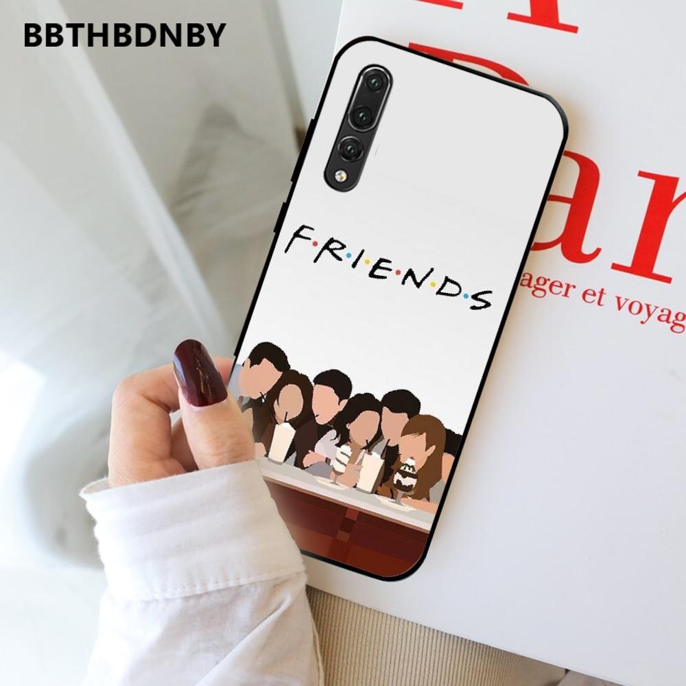TV Serie Freunde DIY Gemalt Bling Telefon Fall Für Huawei P9 P10 P20 P30 Pro Lite smart Mate 10 Lite 20 Y5 Y6 Y7 2018 2019