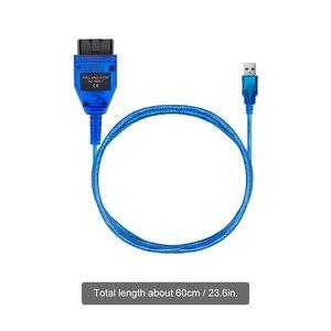 Image 5 - VAG409.1 Vag 409 VAG COM KKL409 OBD2 USB אבחון כבל סורק סריקת כלי ממשק עבור אאודי פולקסווגן פולקסווגן סקודה מושב מכונית