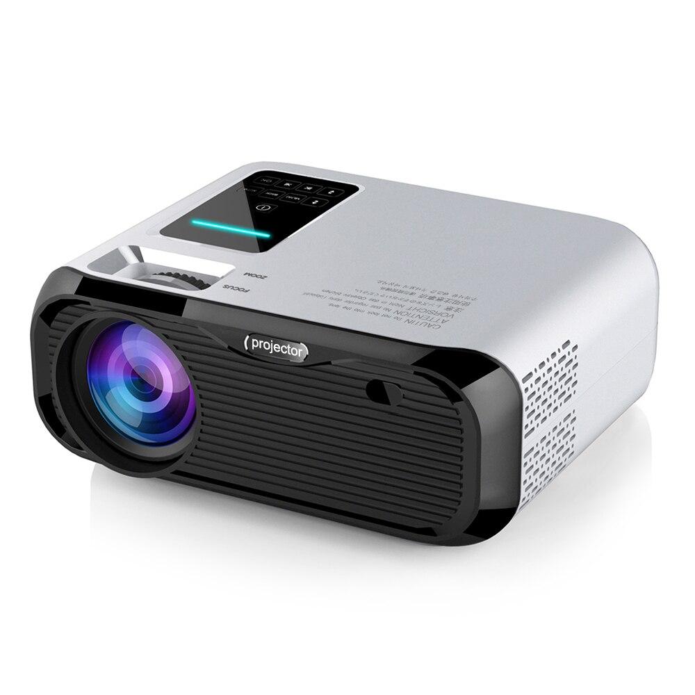 Мини-проектор E500H/E500S, 1080 дюйма, 720*150 P, Wi-Fi, Android, Bluetooth