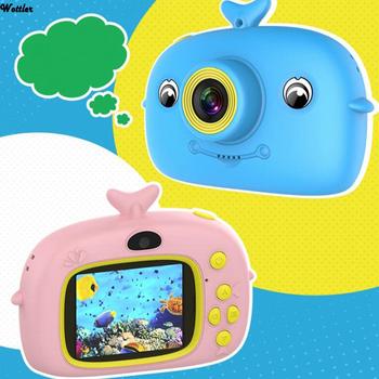 Aparat fotograficzny dla dzieci aparat cyfrowy HD 2 calowy aparat fotograficzny dla dzieci zabawki prezent urodzinowy dla dzieci 2000W aparat zabawki dla dzieci tanie i dobre opinie Wottler 360 ° * 180 ° O 13MP CN (pochodzenie) 1080 p (full hd) Microsd tf 200g 1000mah 2 0inch Digital Camera Kids digital camera