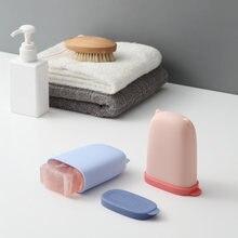 Портативная маленькая Коробка для мыла герметичная и личная