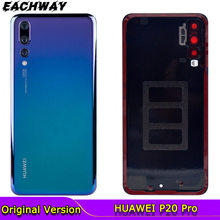 Back Glass Panel Voor Huawei P20 Pro Batterij Cover Met Camera Lens Achter Glas Deur Behuizing Case Voor Huawei P20 pro Batterij Cover