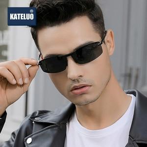 Image 3 - KATELUO 2020 يوم للرؤية الليلية نظارات رجالي نظارات للقيادة الاستقطاب النظارات الشمسية الرجال اللونية الذكور نظارات شمسية 557