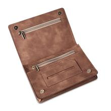 Portable PU Leather Tobacco Bag Cigarette Pouch Case Wallet Tip Paper Holder Smoking Accessories