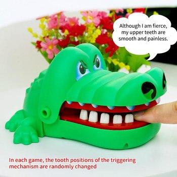 Jokes Teeth Bite Toy Biting Finger Dentist Game Funny Crocodile Pulling Teeth Toys Kids Classic Biting Hand Crocodile Games Gift 1