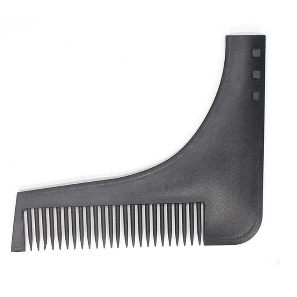 Comb Beard Trimmer Shaping Tool 3 Colors Sex Man Gentleman Beard Trim Template Beard Combs Shaving Hair Molding