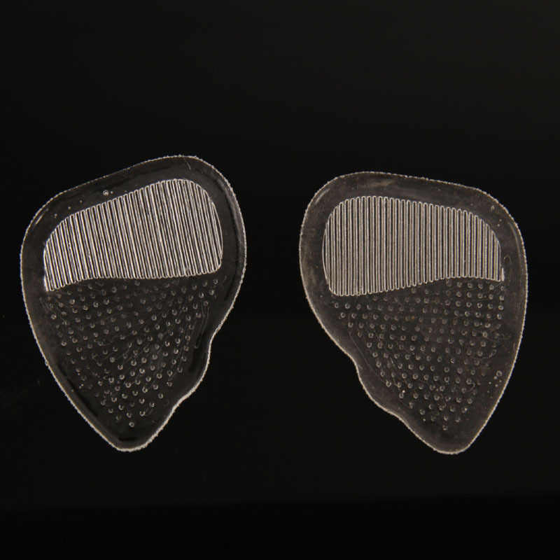 1 çift jel ön ayak silikon ayakkabı pedi tabanlık yüksek topuk elastik yastık kaymaz ağrı kesici ayakkabı tabanlık düz ayaklar ortez