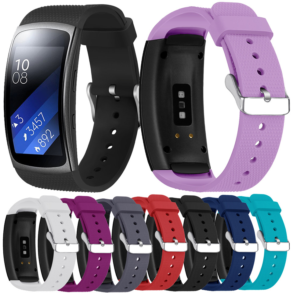 Essidi For Samsung Gear Fit 2 Soft Silicone Bracelet Band For Samsung Gear Fit 2 Pro Smart Watch Wrist Band Loop