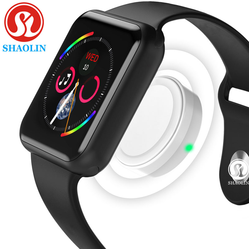 Smart Watch Connected Bluetooth Wrist Smartwatch for Apple iOS iPhone Samsung Sony Huawei Xiaomi LG Android Phone (Red Button)