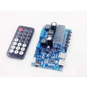 Image 4 - TPA3116 50W * 2 Bluetooth 5.0 오디오 수신기 스테레오 디지털 전력 증폭기 보드 FM 라디오 USB 디코드 원격 제어